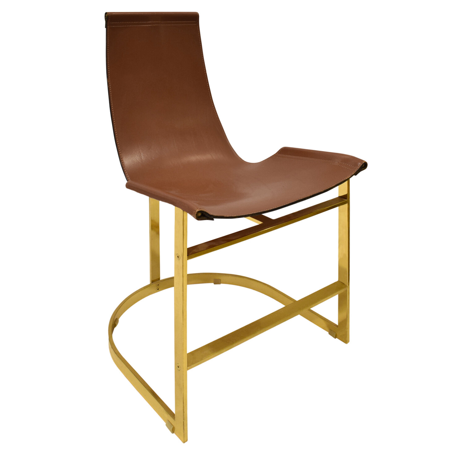 70s 75 brass with leather sling dinningchairs197 angl.jpg