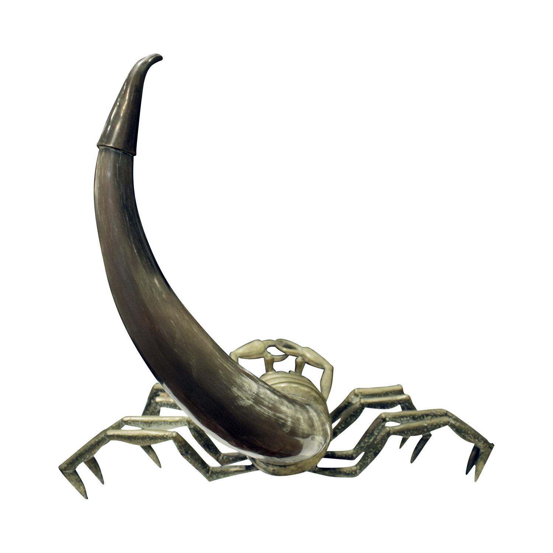 70s 28 scorpion brass+horn sculpture138 back.jpg