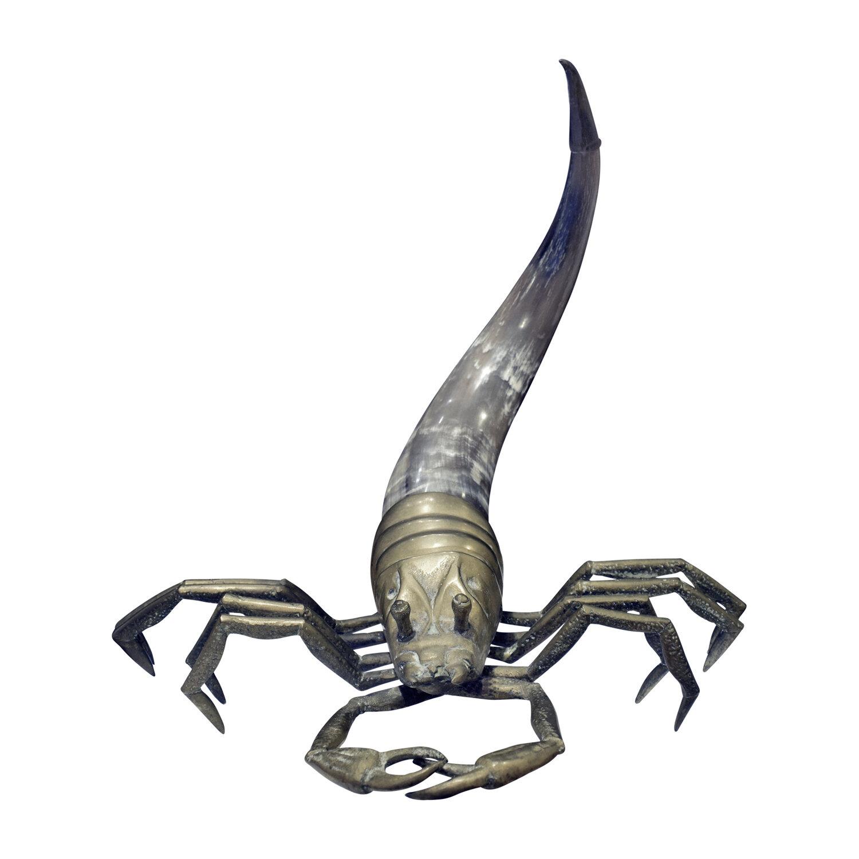 70s 28 scorpion brass+horn sculpture138 frnt.jpg