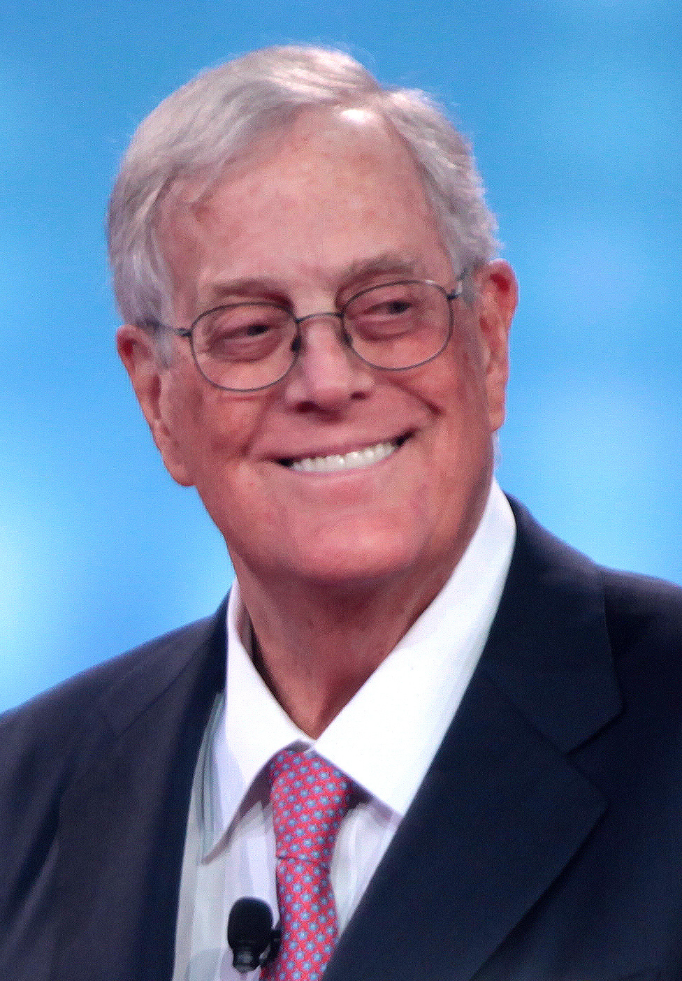 David Koch.  Wikipedia