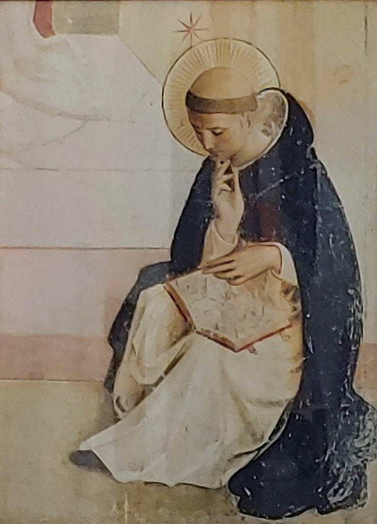 Thomas Aquinas, by Fra Angelico