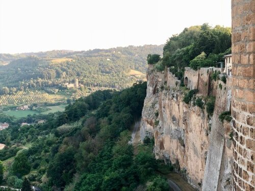 The Wall and vista of Orvieto
