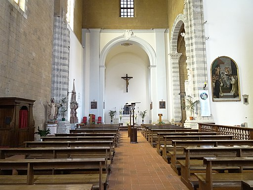 The interior of the Church of S.t Dominic, Orvieto