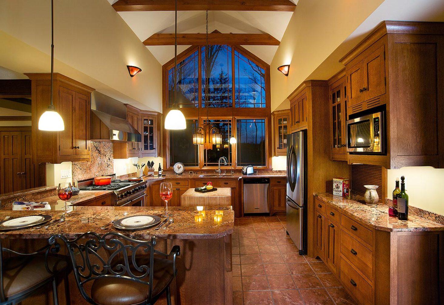 appealing-brown-cherry-wood-amish-kitchen-cabinets-double-door-cabinets-black-color-metal-knobs-black-color-metal-handles-wall-mounted-cabinet-with-glass-lite-door-brown-wooden-crown-molding-cabinets.jpg