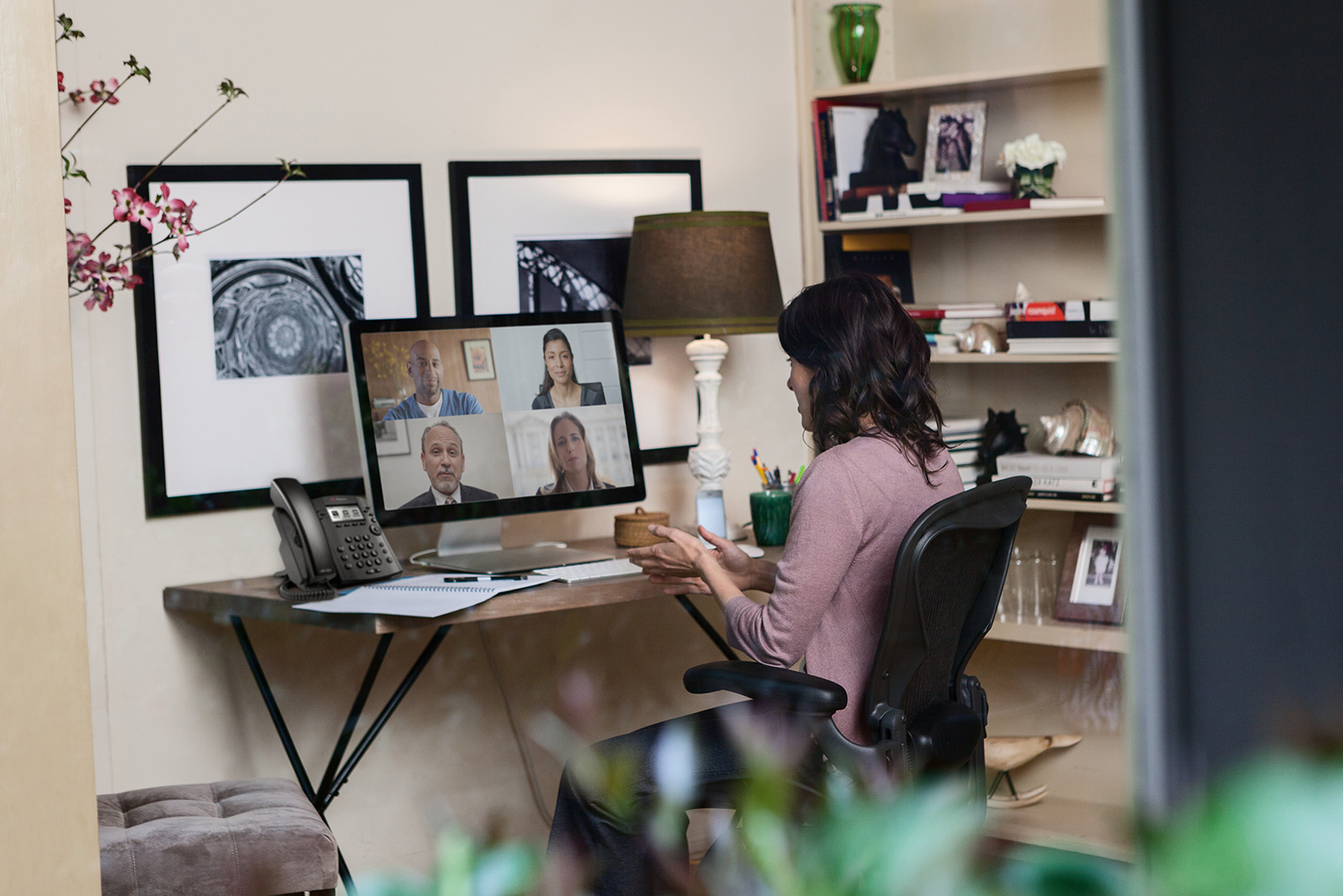 home office Video Conferencing featuring Polycom.jpg