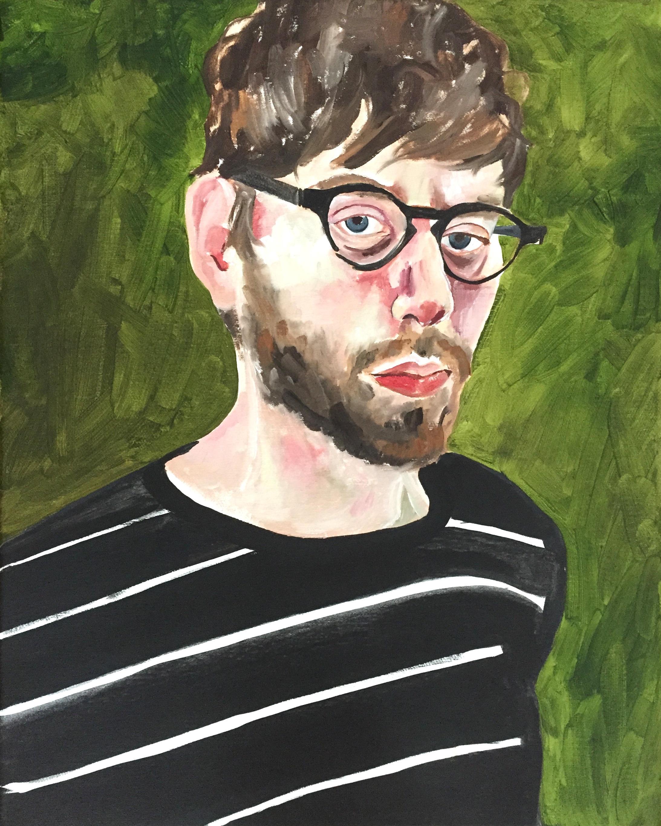 Portrait of Mike Zunenshine
