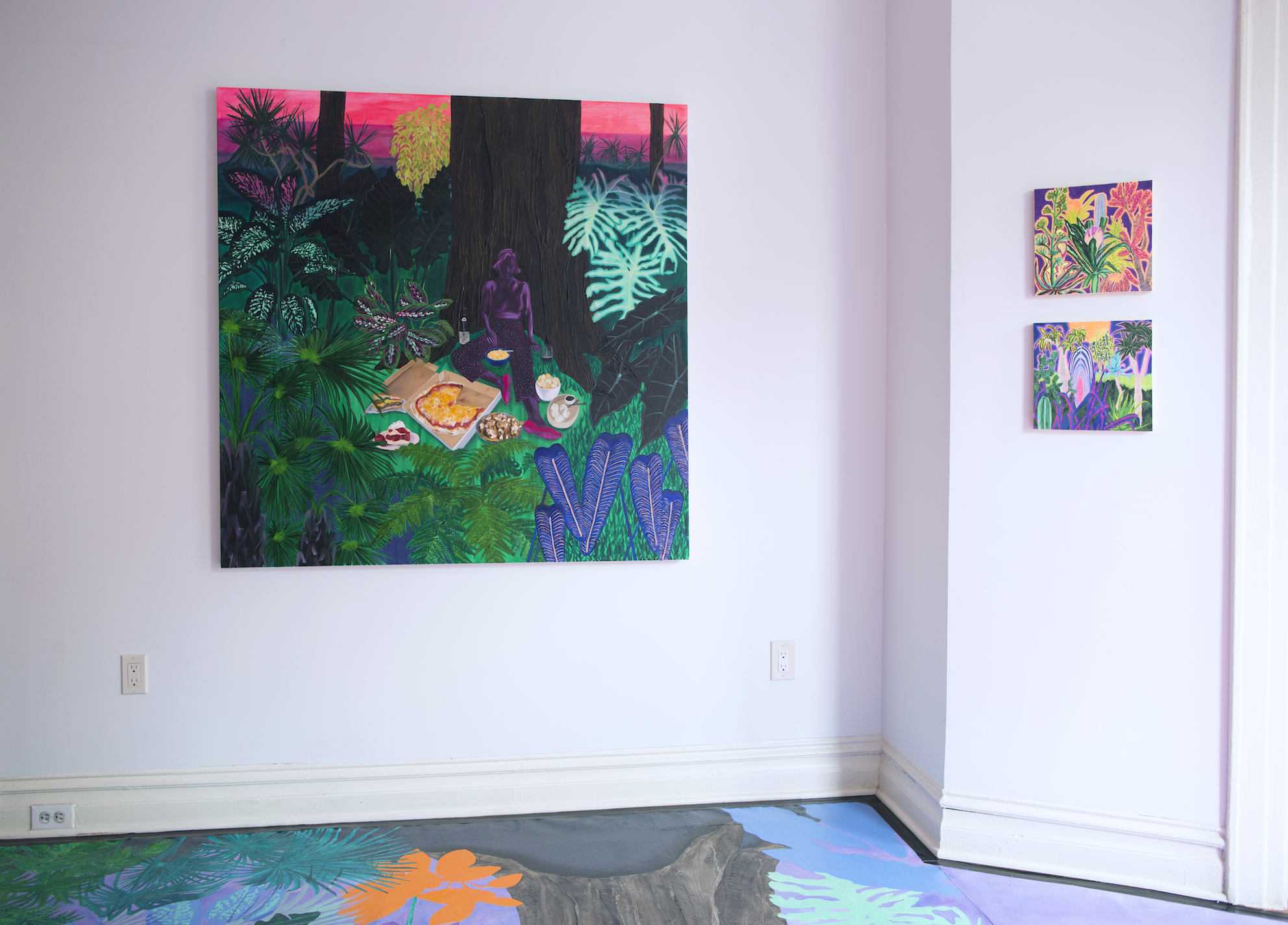 Install shot from Recreation Room