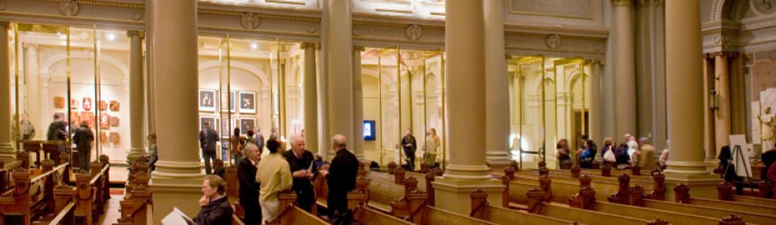 Manresa Gallery, Saint Ignatius Church. Photograph: Kathryn Barulich.