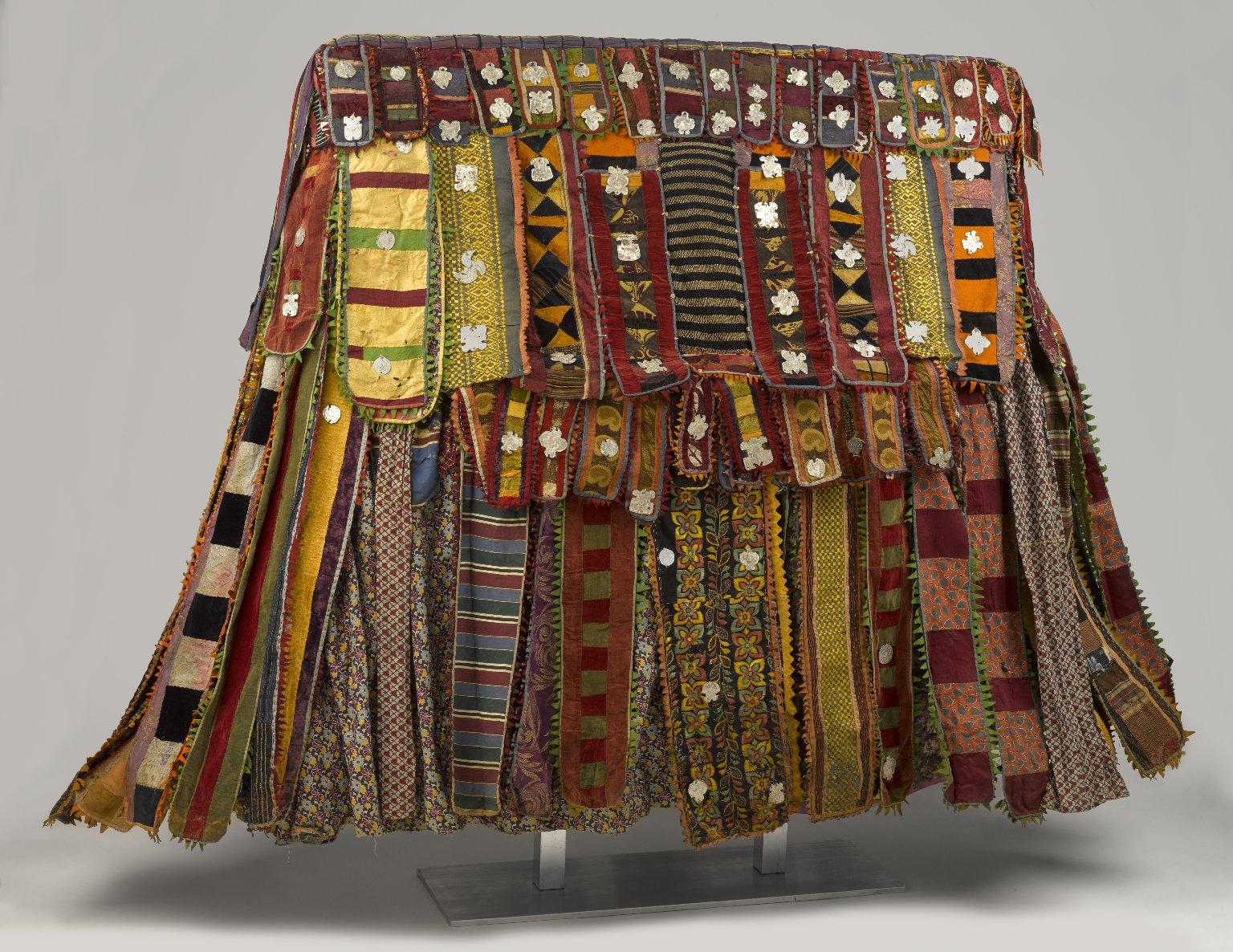 "Brooklyn Museum, ""Yoruba Egungun Dance Costume,"" Digital image,Wikimedia,Accessed January 31, 2017.  https://commons.wikimedia.org/wiki/File:Yoruba_Egungun_Dance_Costume_Brooklyn_Museum.jpg#metadata ."