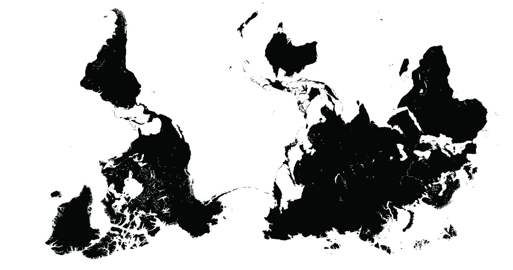Anti-palindrome. Courtesy of Felipe Quintero Botero (2017). From Paula Mendez' essay, The Haptic Revolution of Cartographies