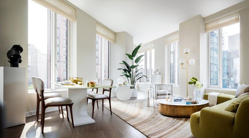 Courtesy Andre Kikoski: Living room sculpture by John Mosler