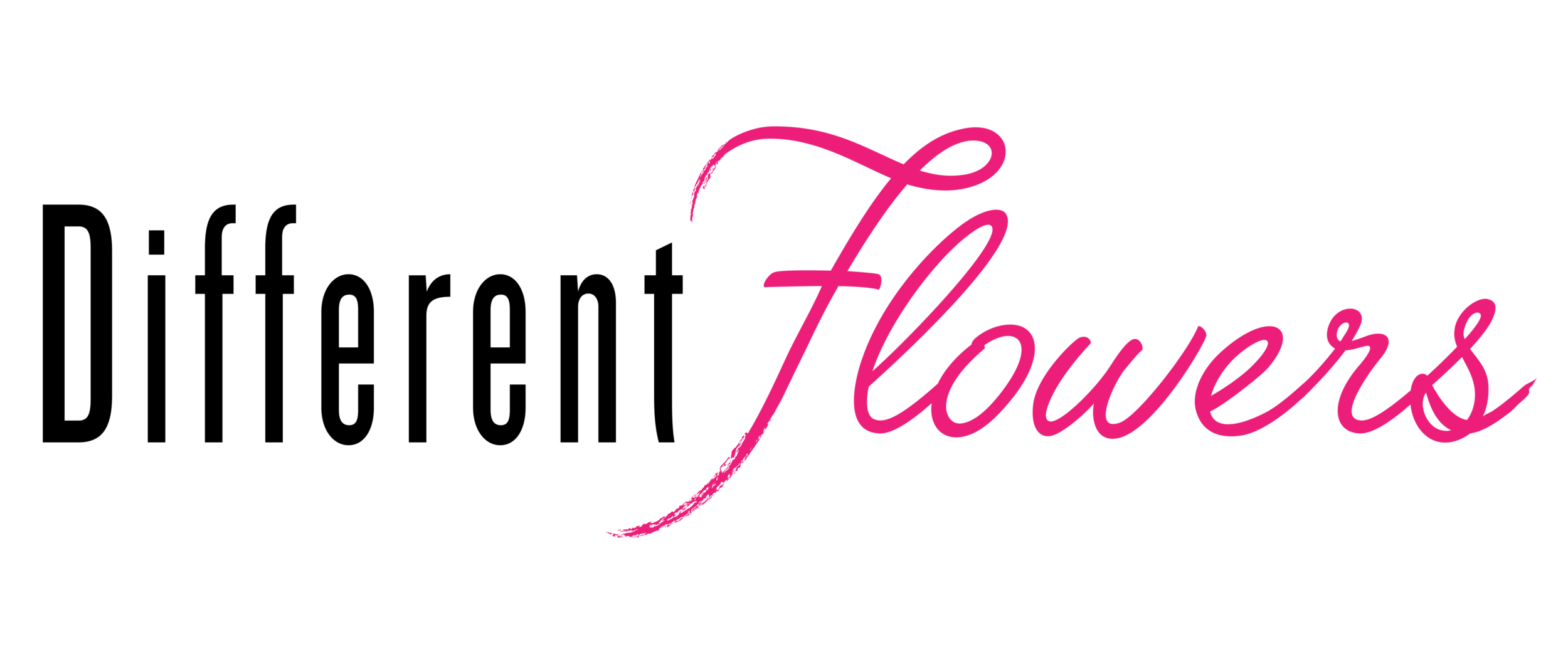 Different Flowers Logo