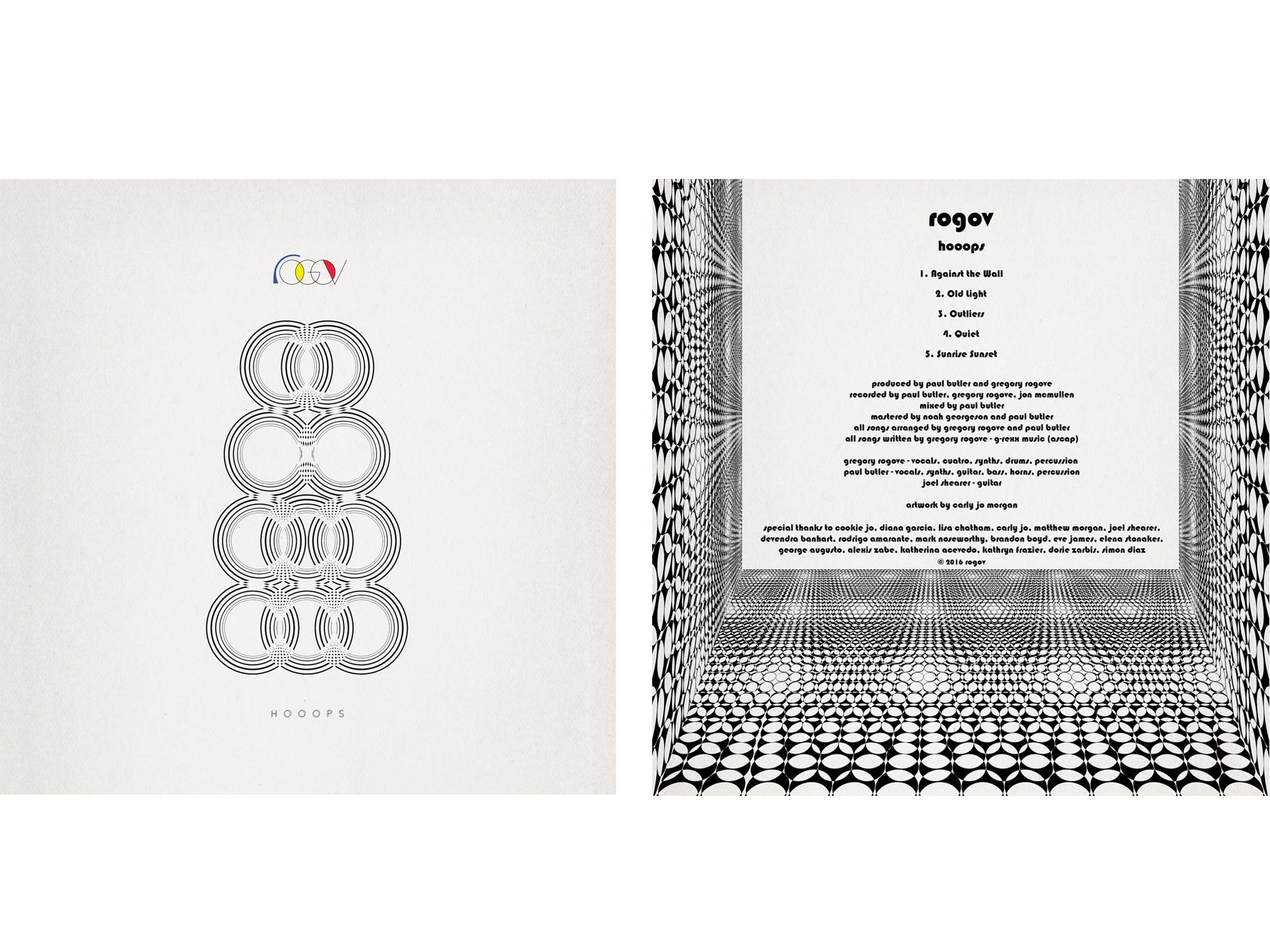 Rogov / Hooops album art