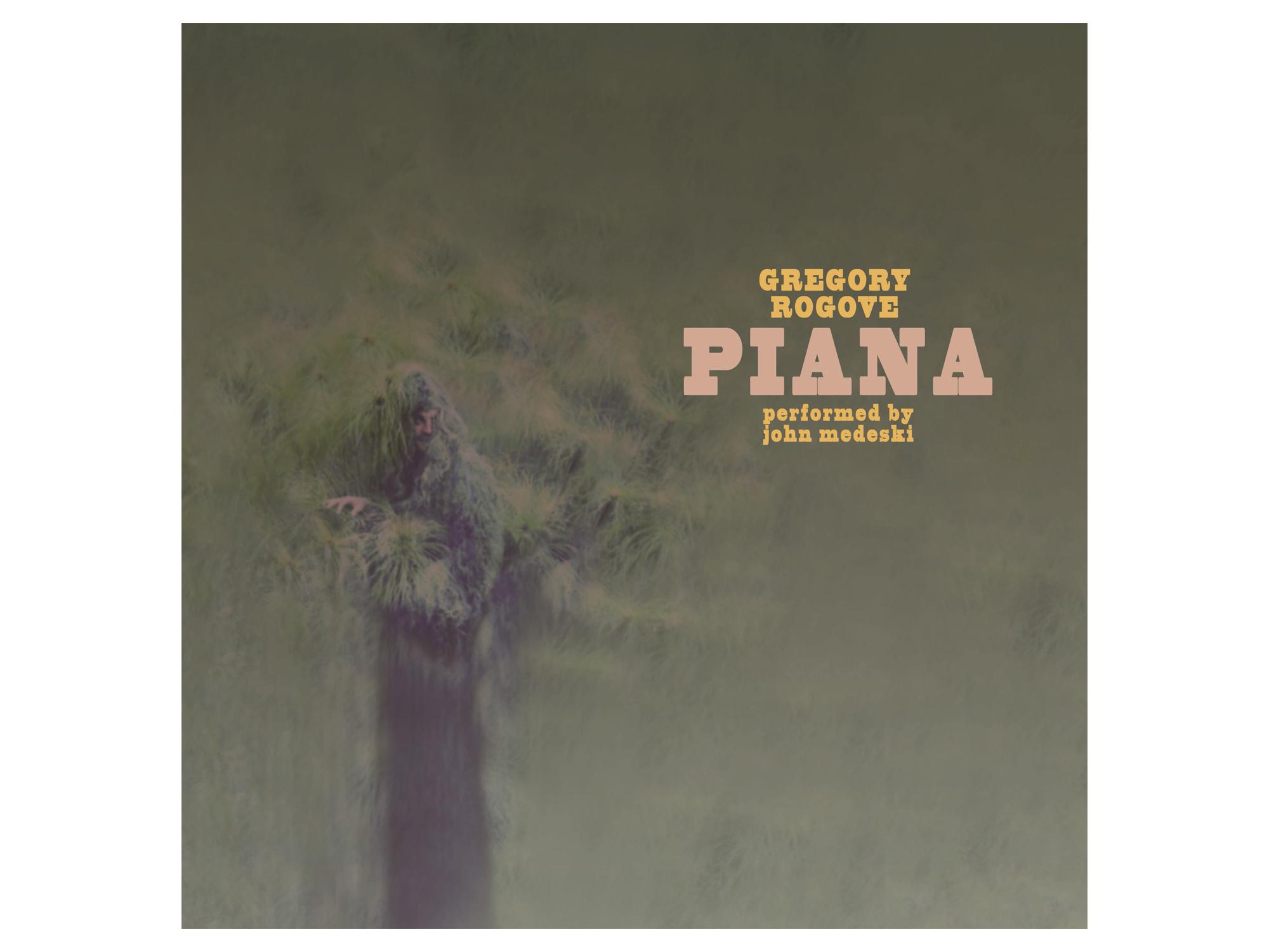 Gregory Rogove / Piana album art