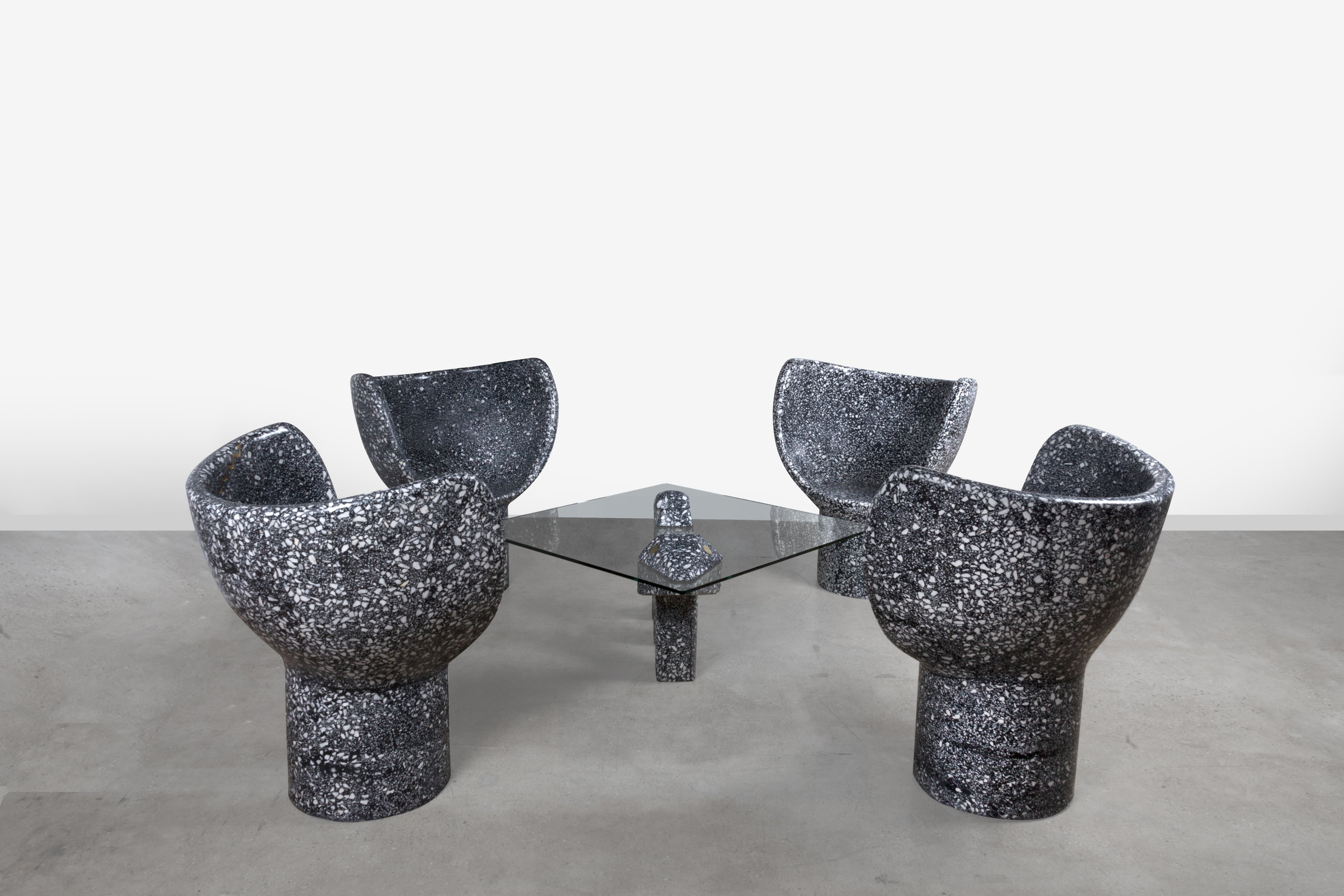 Meetings with the Mothership : Transmutation Table with Moonsnake Chairs