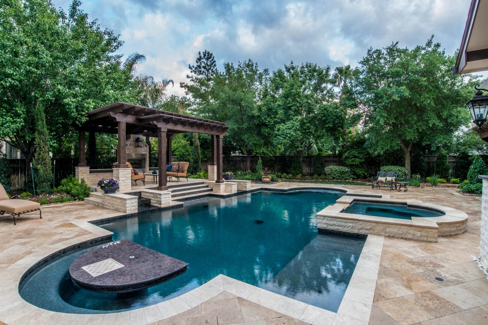 Swim in your own stunning pool