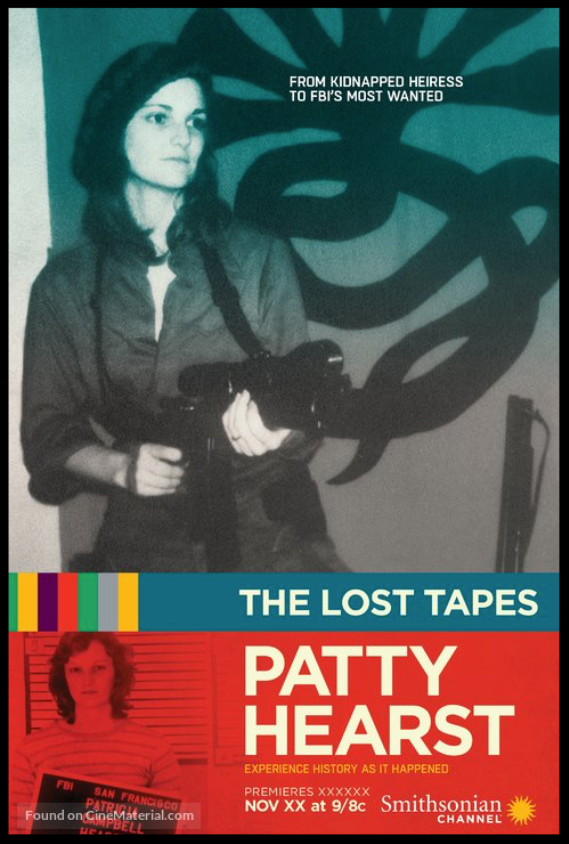 The Lost Tapes: Patty Hearst  - available soon For the Smithsonian Channel
