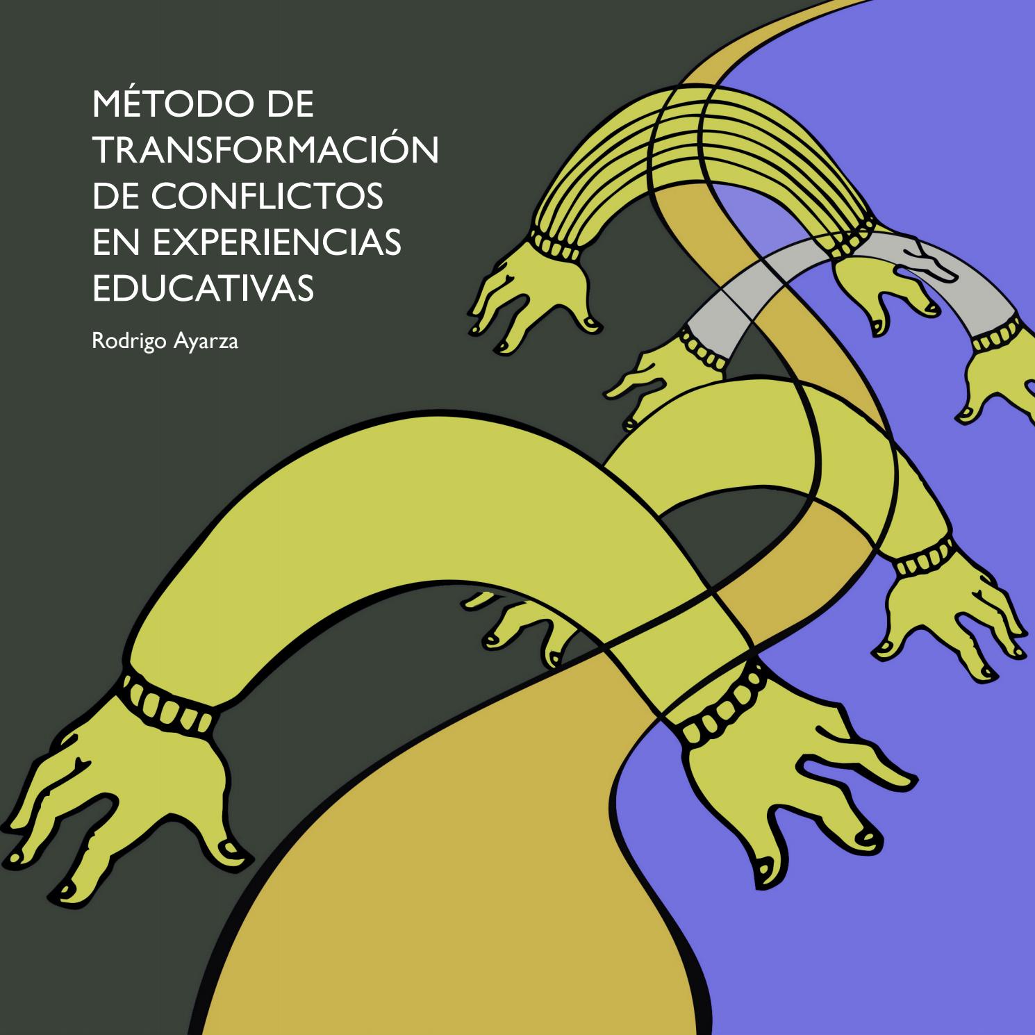 ¿Por qué es necesario transformar conflictos educativos? - Guía práctica para docentes. Cuando importa definir alternativas al conflicto.