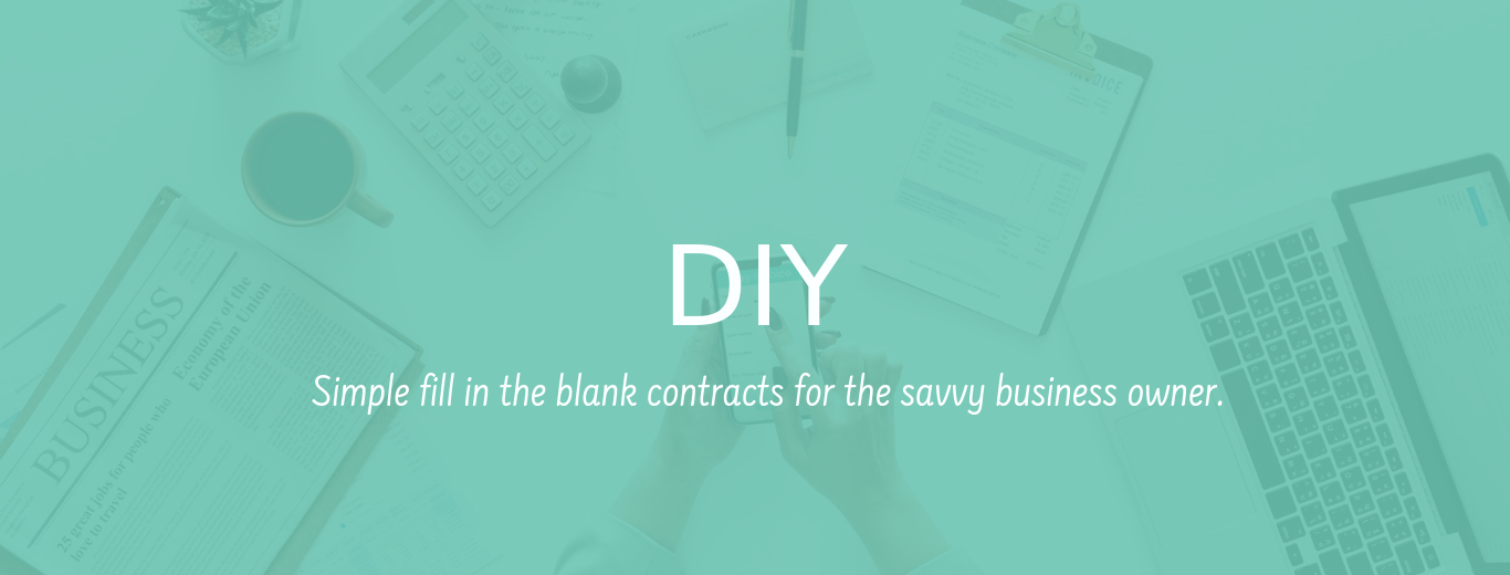 Fill in the blank contracts for the savvy business owner