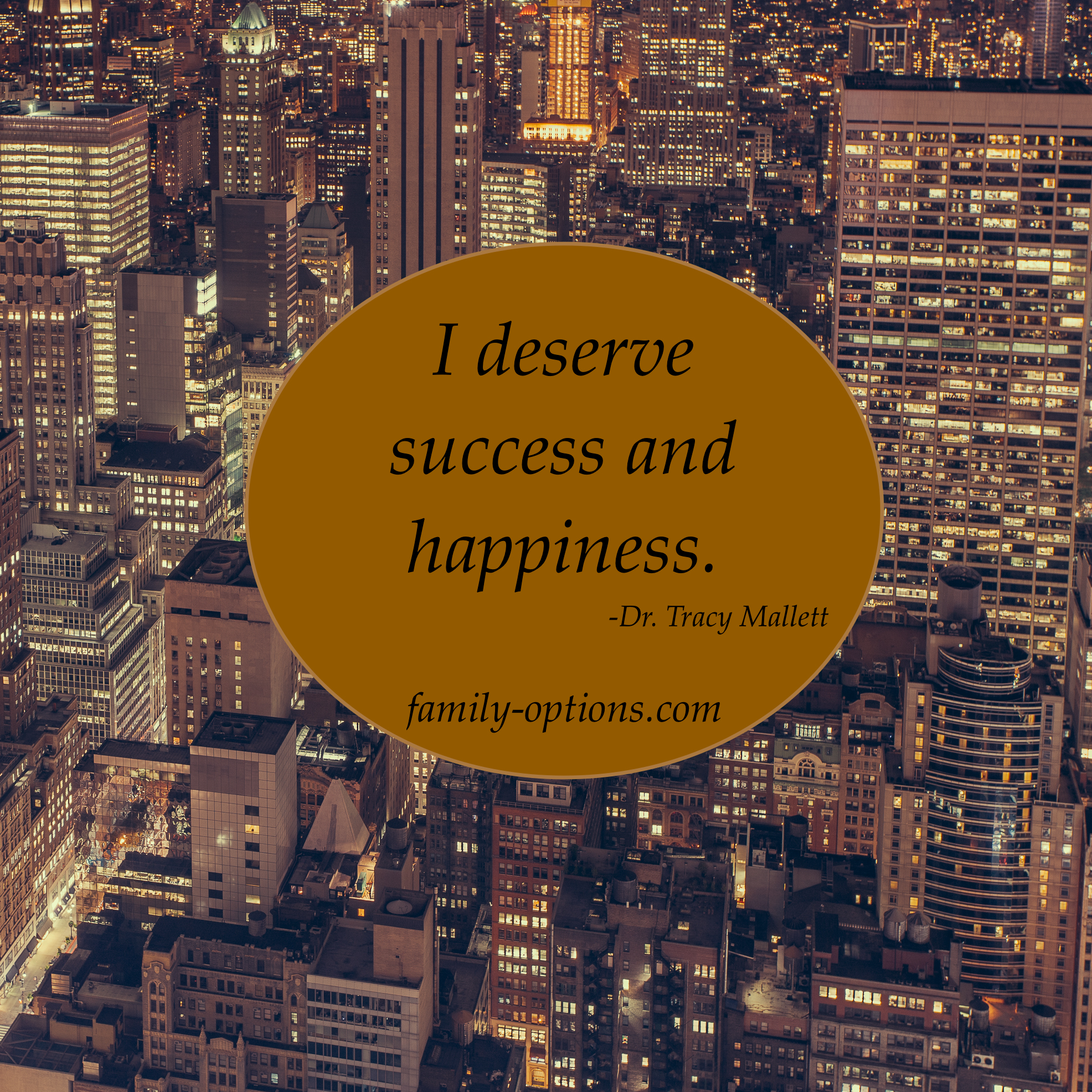 Claiming happiness