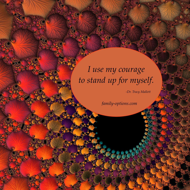 Self courage