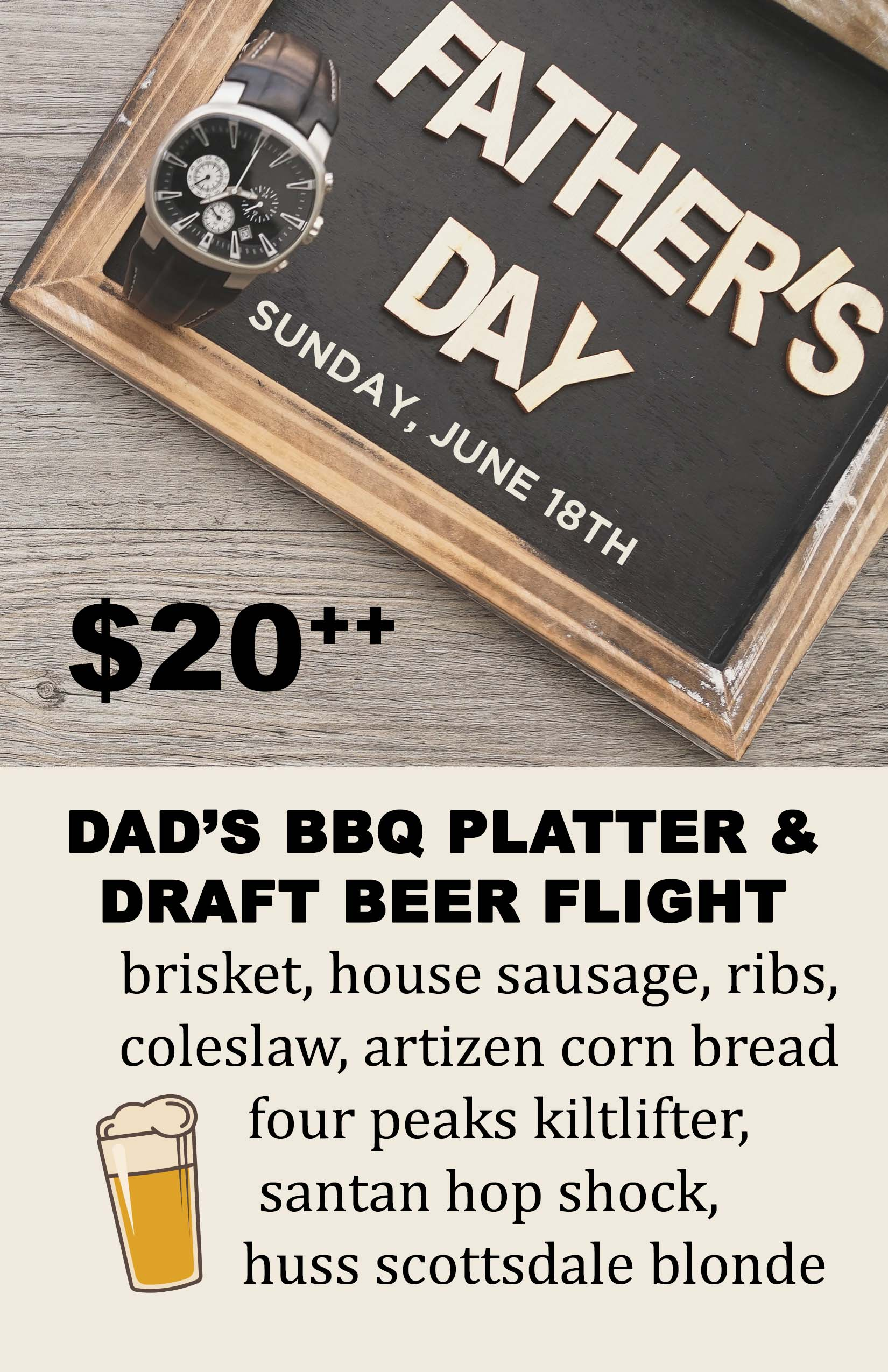 Father S Day Artizen Restaurant Crafted American Kitchen And Bar Phoenix Az