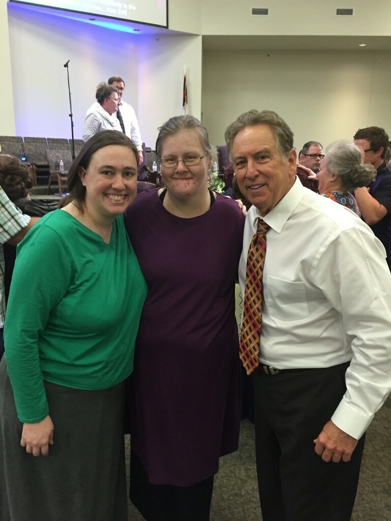 Healed of Diabetes at Tyler, Texas Service