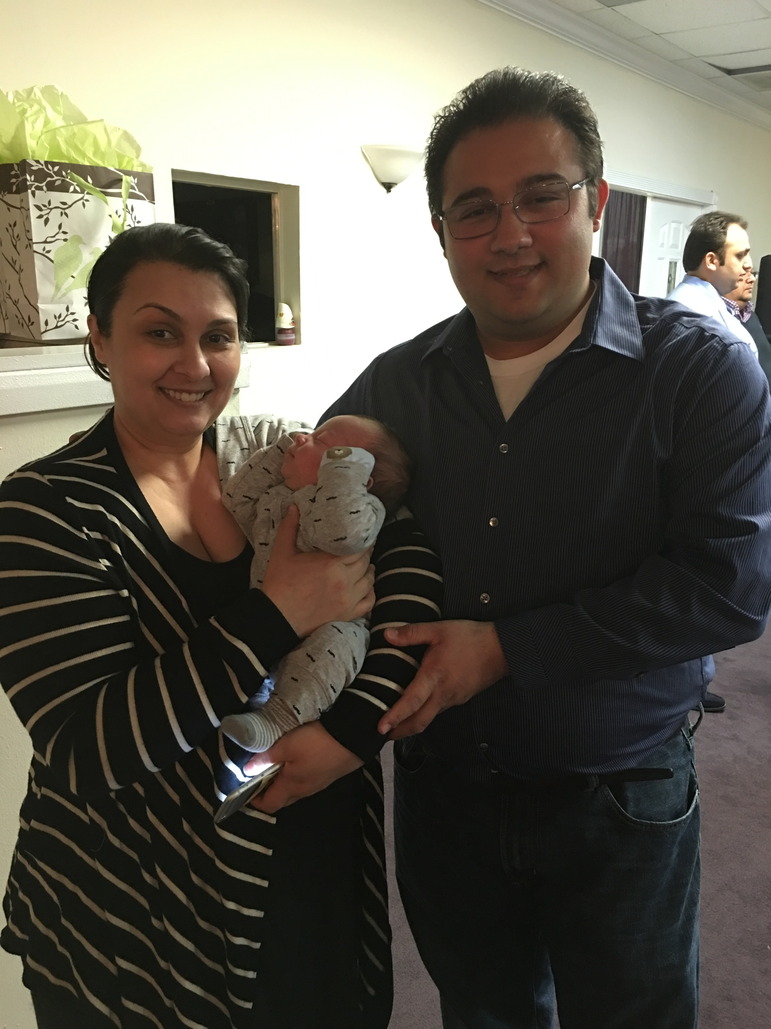 HEALED OF CANCER AND GIVEN A BABY