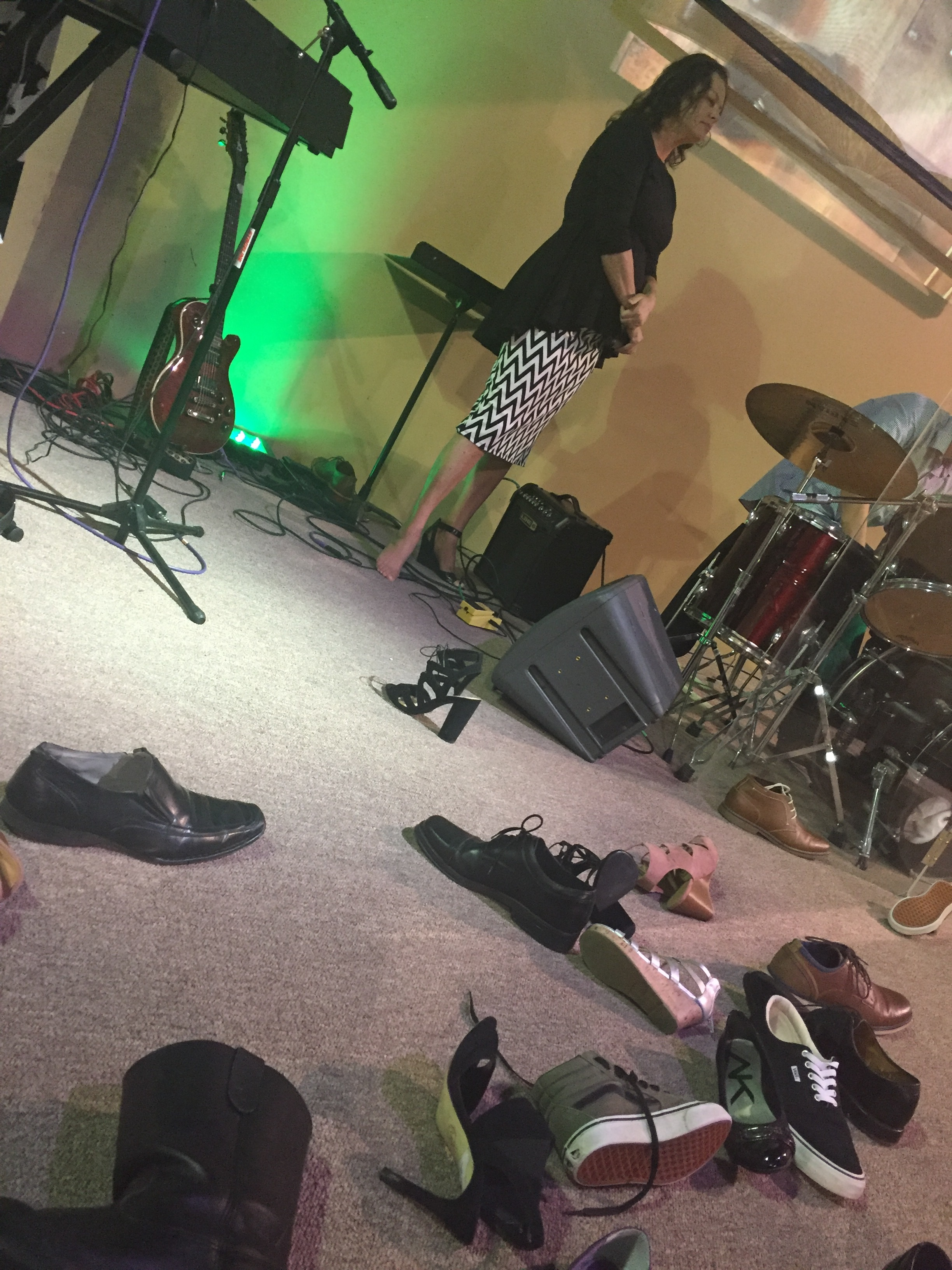 """Red Oak, Texas; Sermon """"Jesus walking in your shoes"""""""