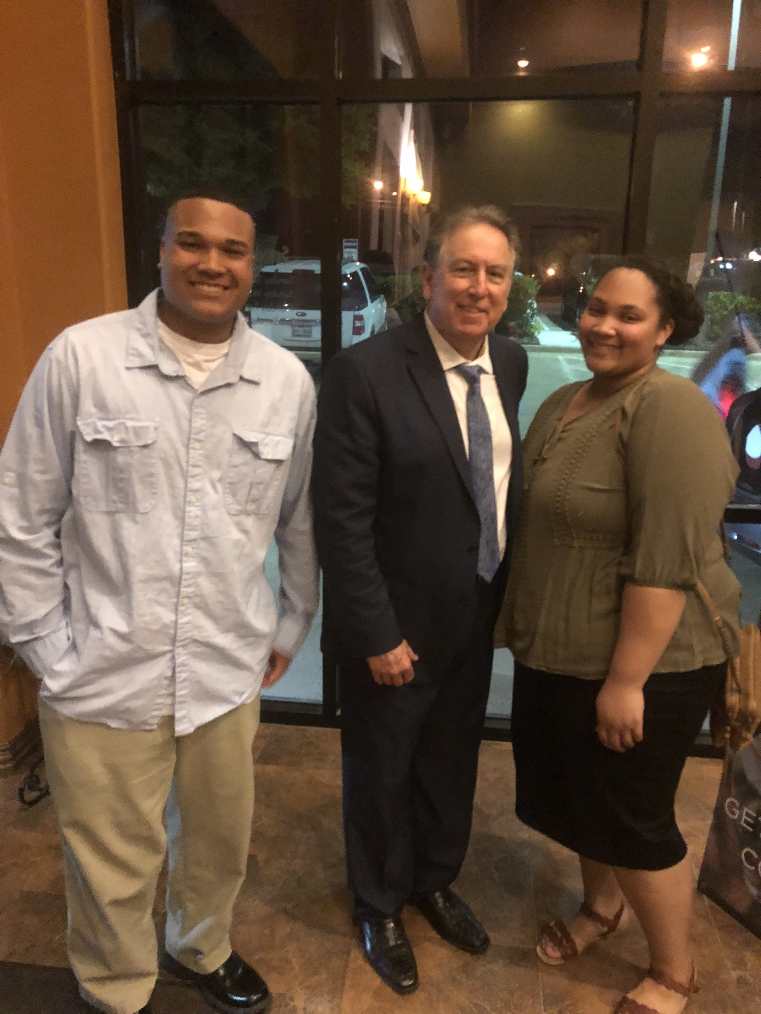 Corinth, Texas; Brother and sister at Victory Life Church prayed prophetically for at same service.