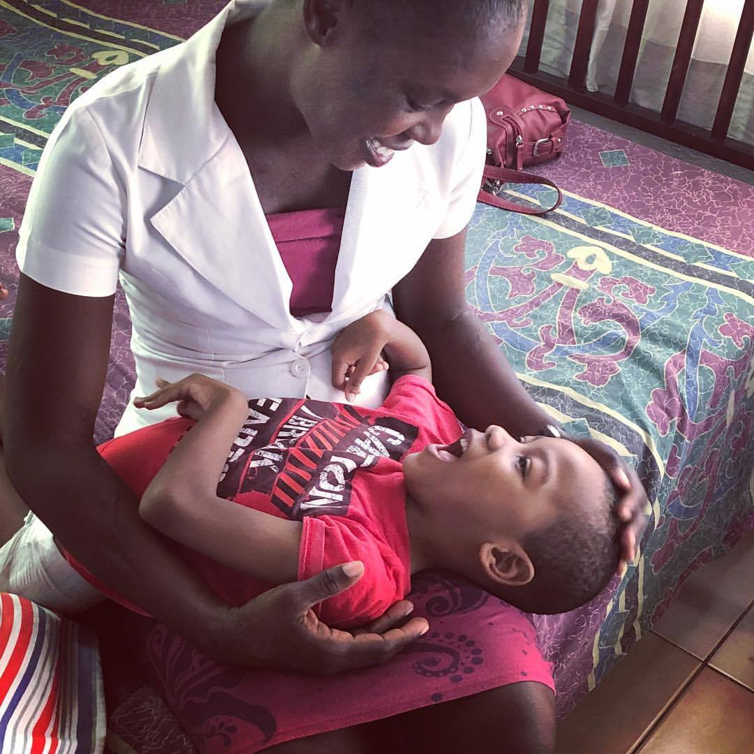 Haiti Mama's Disability Care program was the recipient of $10K grant from KIND Snacks in June 2017. We used these funds to purchase therapeutic equipment for the kids, and provide extensive training for our caretakers. -