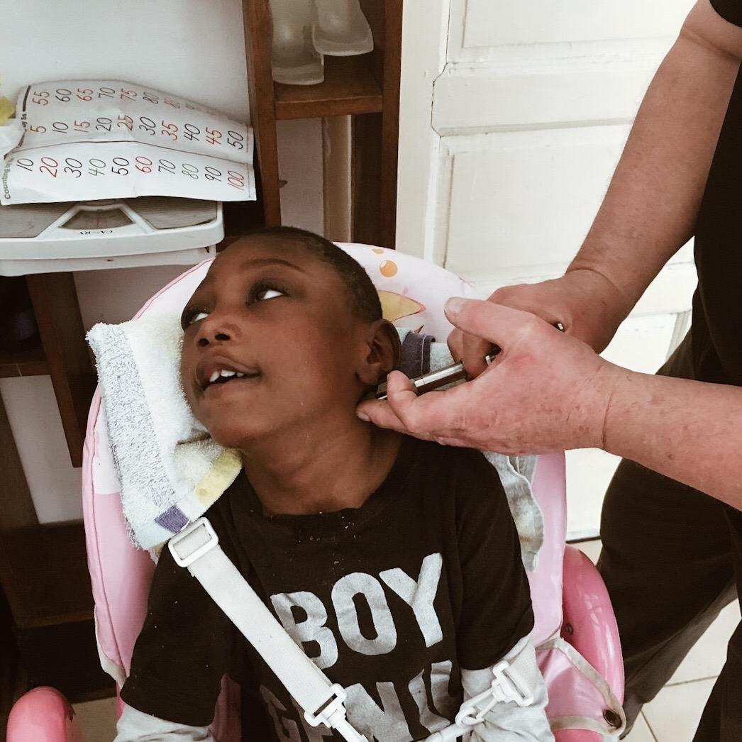 November, 2017. Chiropractor @ Haiti Mama