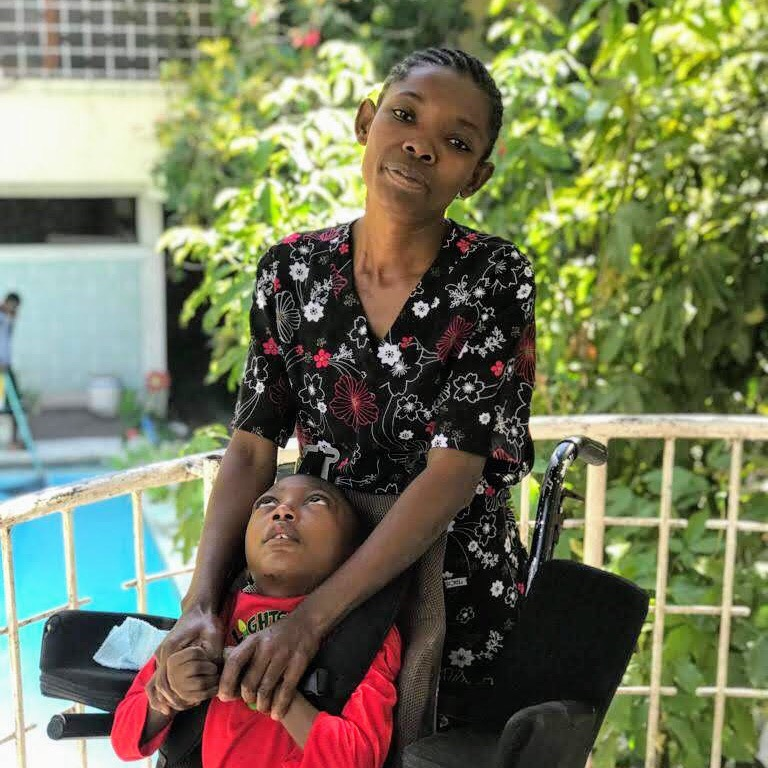February, 2019. Haiti Mama.