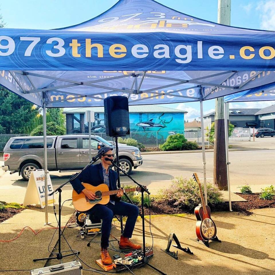 The talented Luke Blu Guthrie, photo by 97.3 The Eagle