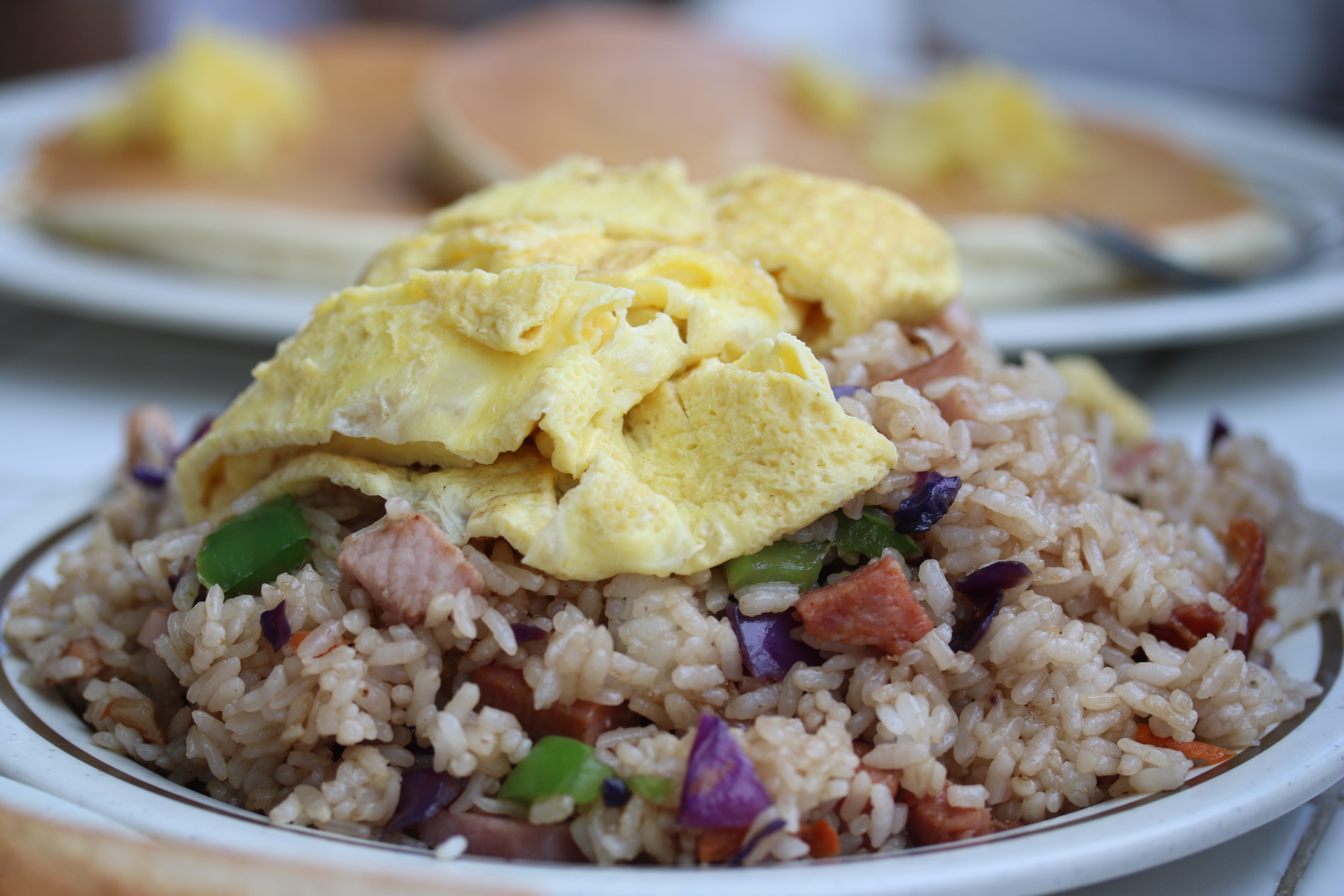 Traditional Hawaiian Fried Rice