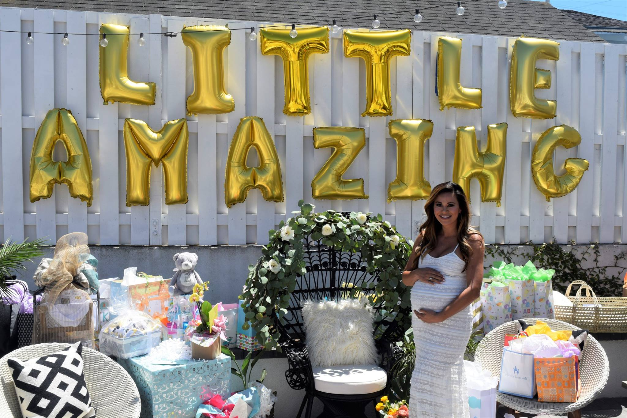 Feeling SO loved by all of our family & friends! @LittleAmazing is such a blessed baby!