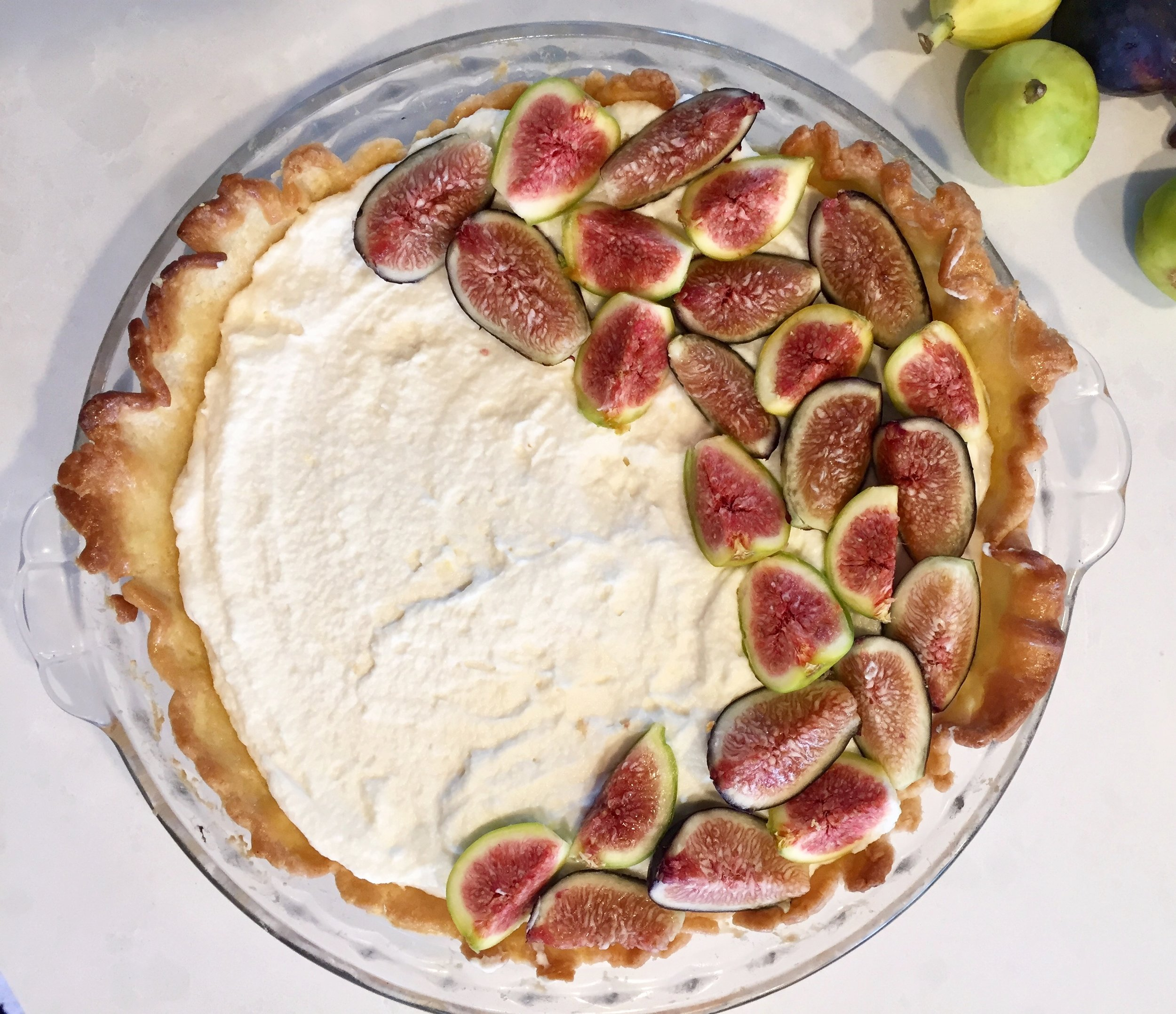 I've learned that the most perfect desserts never taste the best. This pie is rustic, real and every bit is delicious!