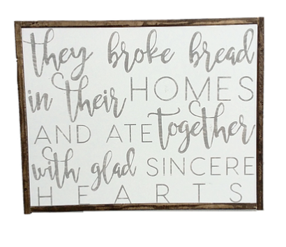 Get Swank - handcrafted, hand painted wood signs made with love