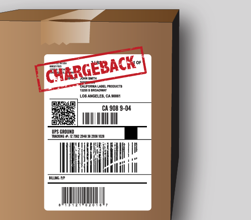 STOP SMUDGED LABELS   Does this happen to you? We can help! Our ScuffTuff Direct Thermal can help reduce or eliminate carton label deductions & chargebacks.