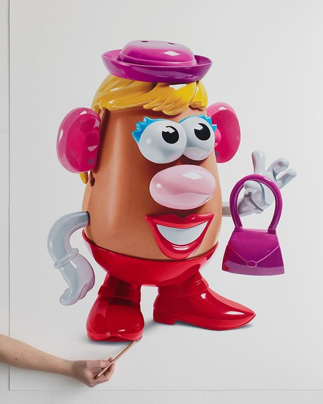 Squish paintings to Jumping castles to Mrs PotatoHead...what's next?...balloon dogs...JKS!!!!