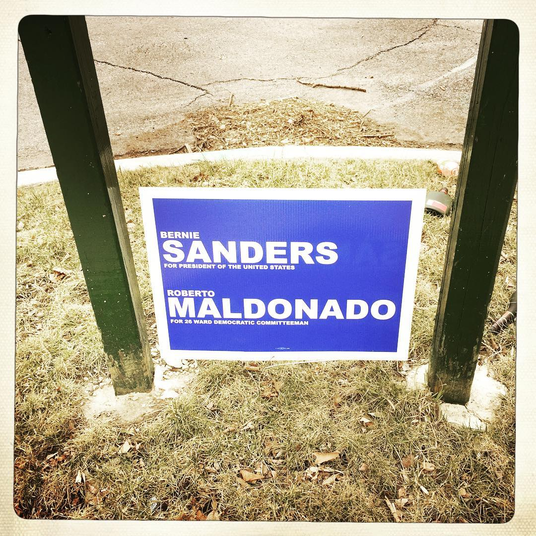 Day 85: These just popped up everywhere. somehow I doubt Bernie would approve...