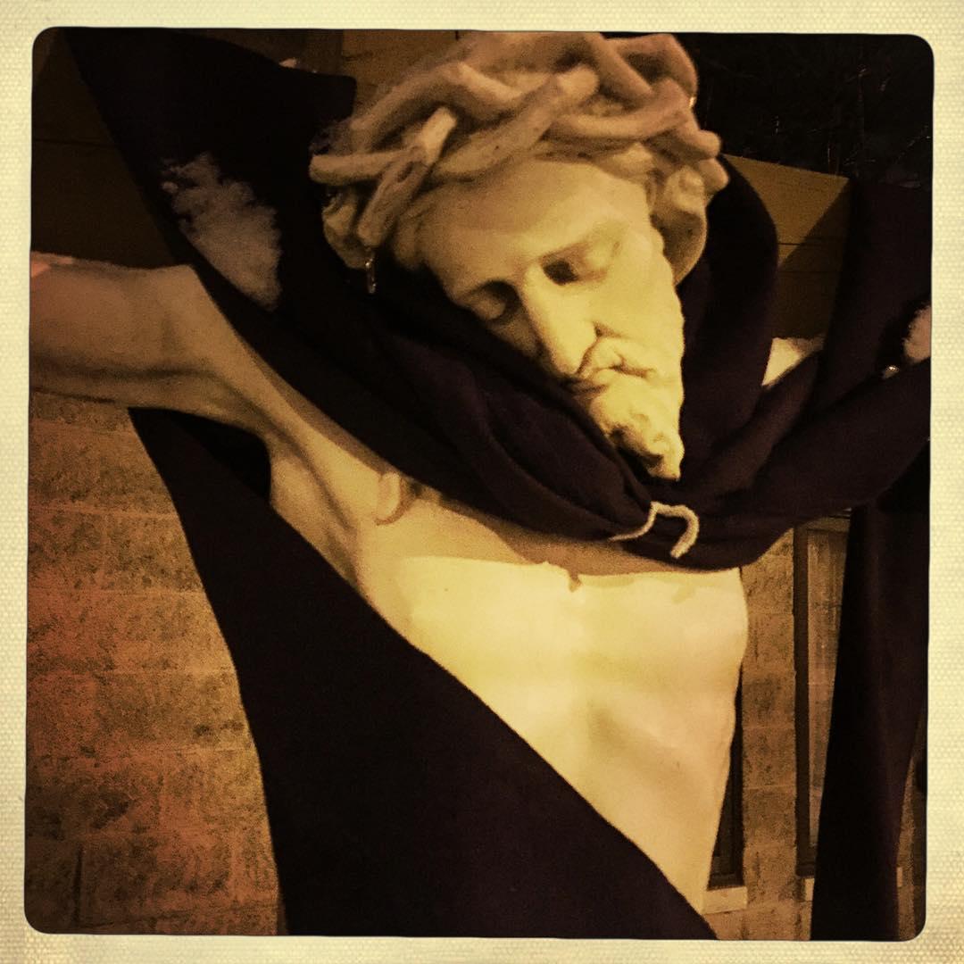 Day 91: Even Jesus can appreciate a good scarf.