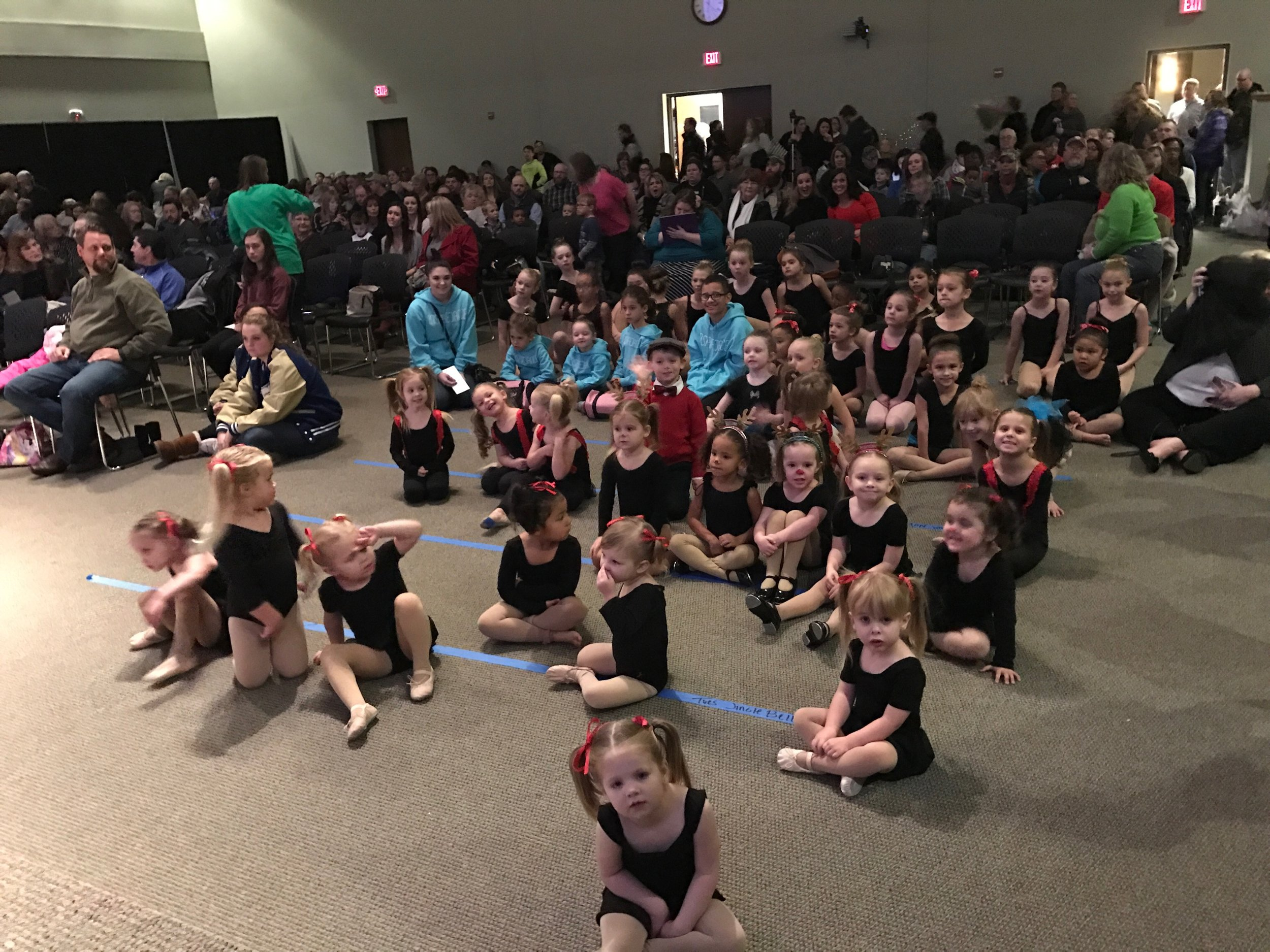 Some of our lovely dancers