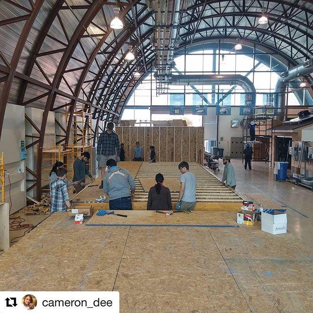 #Repost @cameron_dee ・・・ Progress! #ecomod_unm #designbuild #modular #unmsaap