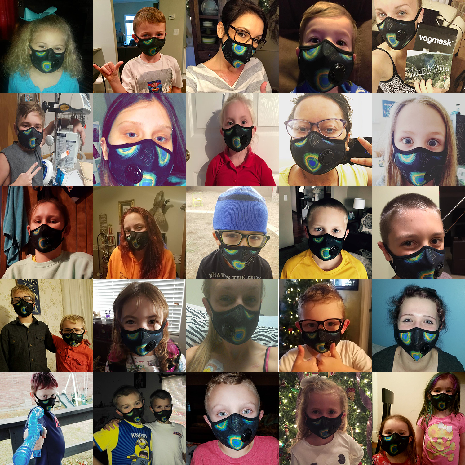 Here are some of those that are able to benefit from the More Than just Masks Program