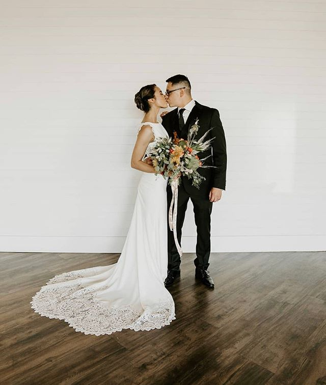 "The day they said ""I DO!"" Our heartfelt congrats to you both @takenbylauramarie and @incredible_slowpez... we are so honored to have had you in @the.venue.studios! ⠀⠀⠀⠀⠀⠀⠀⠀⠀ .⠀⠀⠀⠀⠀⠀⠀⠀⠀ .⠀⠀⠀⠀⠀⠀⠀⠀⠀ .⠀⠀⠀⠀⠀⠀⠀⠀⠀ PHOTO: @ashlynarlenephotography⠀⠀⠀⠀⠀⠀⠀⠀⠀ FLORALS: @historiaflorals"