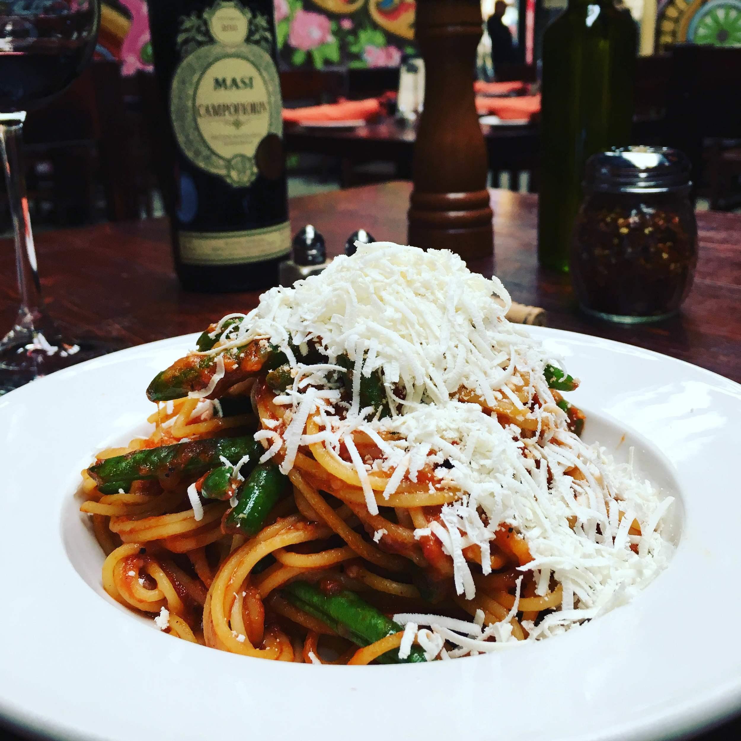 spaghettini fagiolini