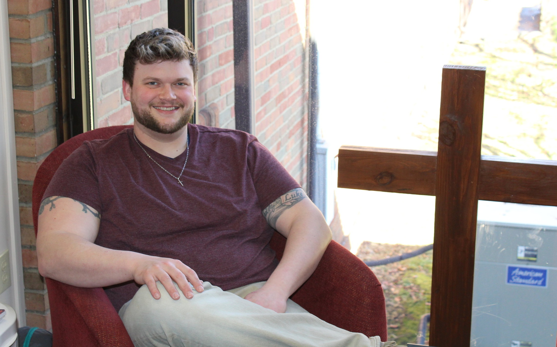 Bud Fickley finds a home as Director of Student Ministry at Dutilh Church.