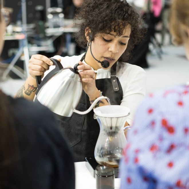 Jessica Sartiani - Independent Barista Trainer Barista, competitor, training and a coffee lover. After my experience as a head Barista in Ditta artigianale, the last year I decide to move my own in an indipendent experience in the Italian coffee world, sharing and discussion with all the coffee people, improving the growth of the specialty coffee industry.