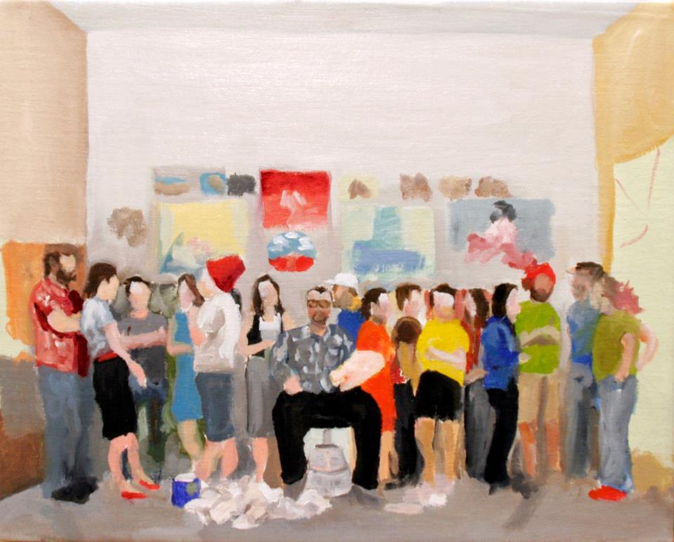 study for Inside the Painter's Studio
